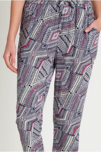 Lejące wiskozowe spodnie