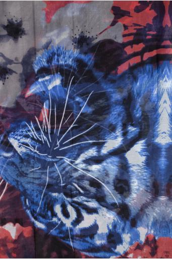 Apaszka w tygrysy