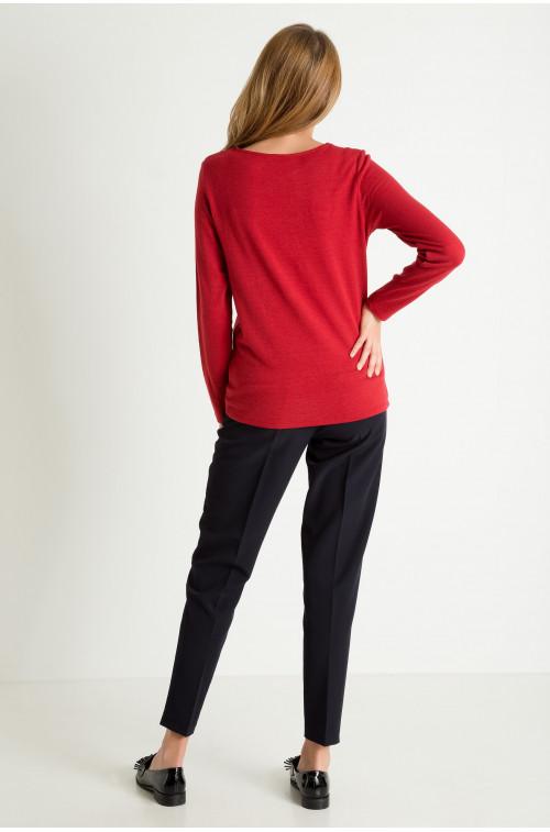 Sweter typu 'oversize'