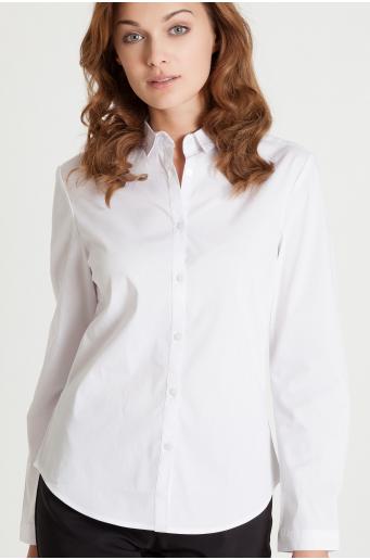 Klasyczna koszula z podkreśloną talią