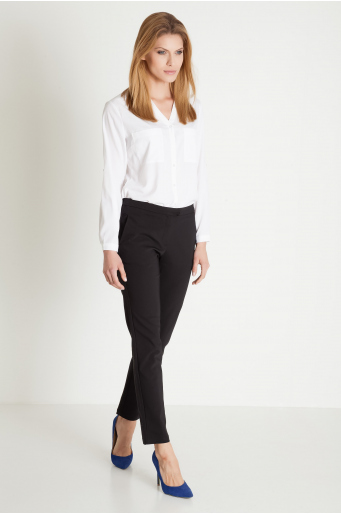 Klasyczne spodnie tkaninowe