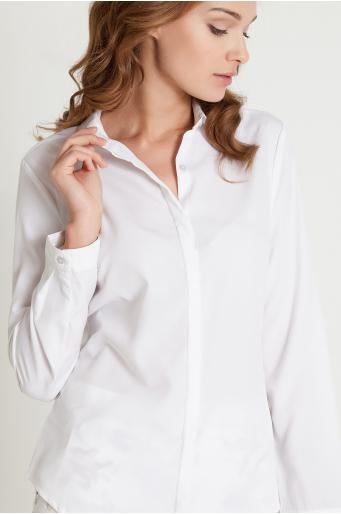 Elegancka koszula z długim rękawem