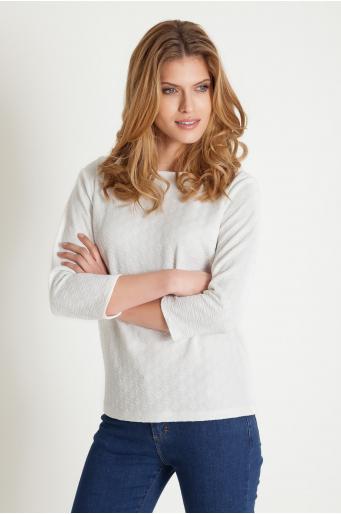 Elegancka żakardowa bluzka