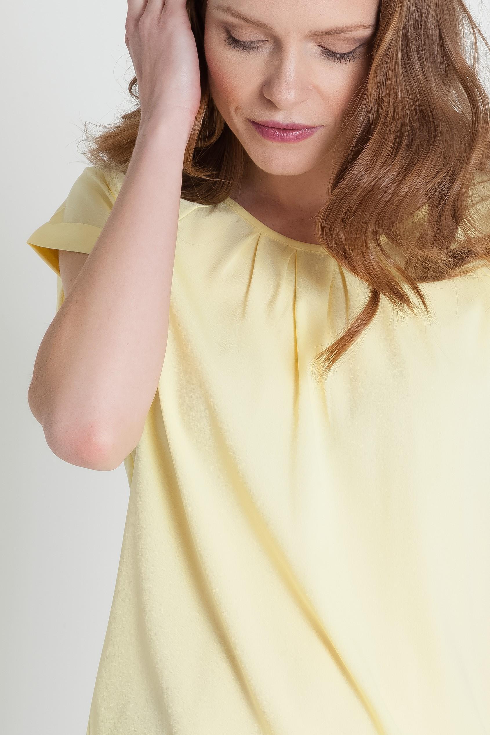 Elegancka bluzka z krótkim rękawem