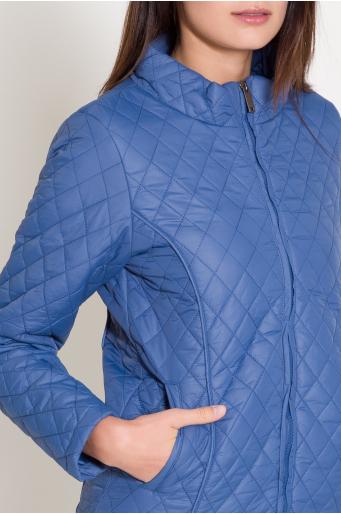 Jesienna pikowana kurtka