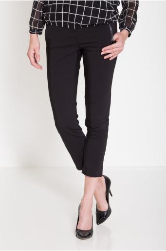 Eleganckie spodnie z ozdobnymi kieszeniami