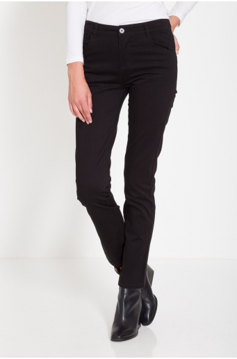 Spodnie z prostą nogawką
