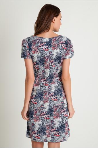 Bawełniana sukienka z kieszeniami