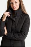 Pikowana kurtka ze stójką