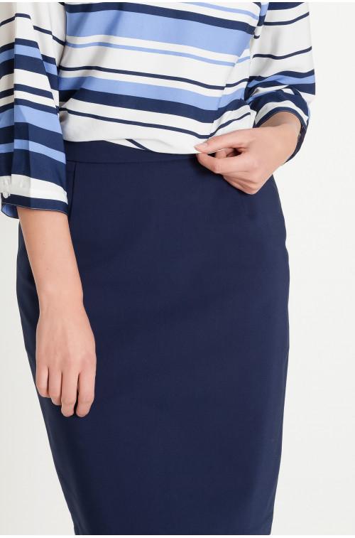 Klasyczna spódnica tkaninowa