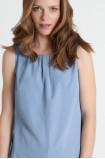 Elegancka bluzka bez rękawów
