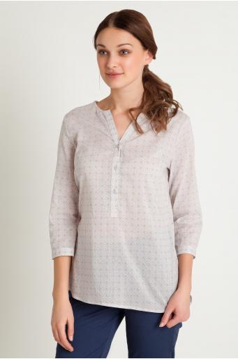 Bawełniana bluzka z nadrukiem