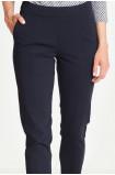 Klasyczne spodnie ze zwężaną nogawką
