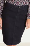 Klasyczna spódnica dżinsowa