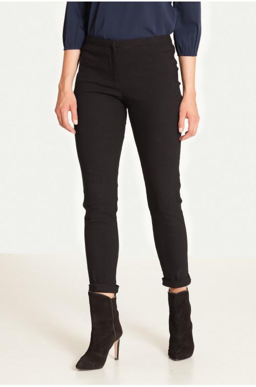 Żakardowe spodnie