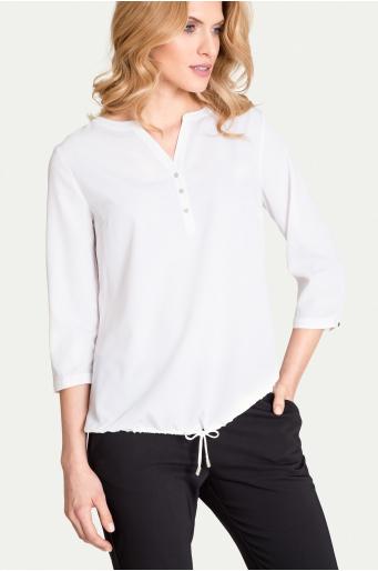 Elegancka bluzka z troczkiem