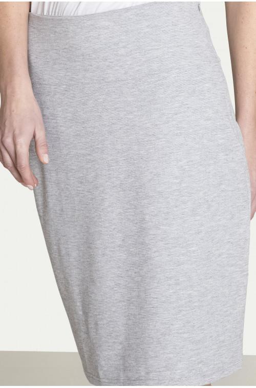 Dzianinowa spódnica ołówkowa