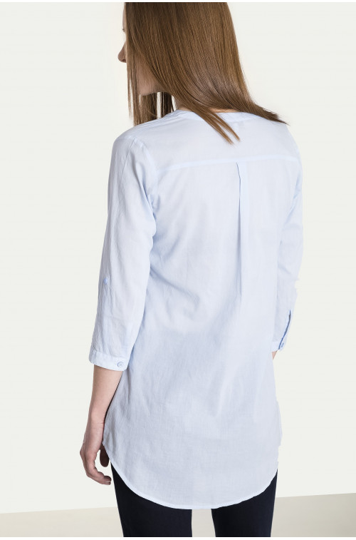 Bawełniana bluzka koszulowa