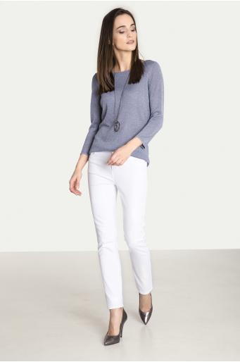 Dopasowane spodnie bawełniane
