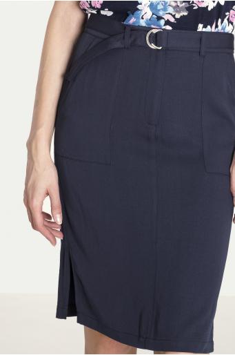 Wiskozowa spódnica