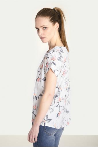 38ecb739 Elegancka bluzka z nadrukiem