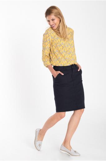 Bawełniana spódnica ołówkowa