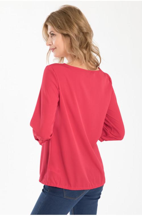 Elegancka bluzka z dekoracją