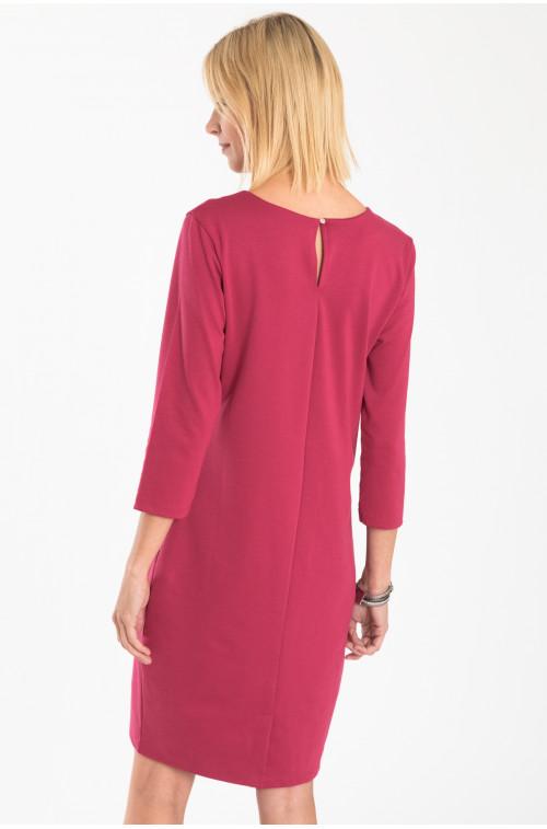 Elegancka sukienka dzianinowa