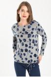 Sweter z troczkiem