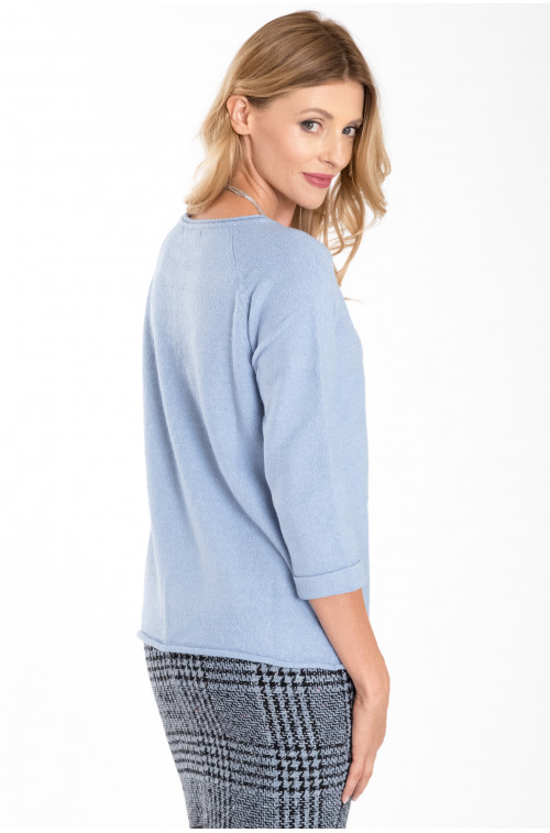Klasyczny, ciepły sweter