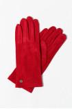 Eleganckie rękawiczki z ekologicznego zamszu