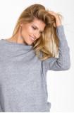Miękki sweter ze stójką