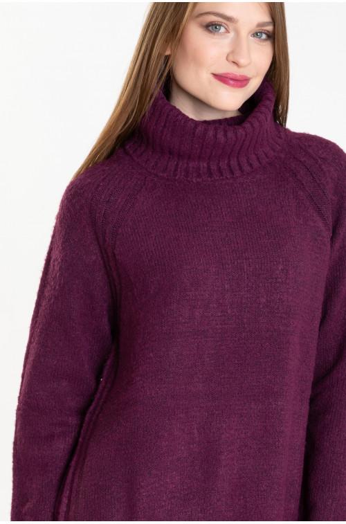 Sweter z golfem