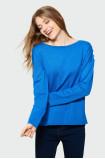 Klasyczny sweter z dekoracyjnymi guzikami