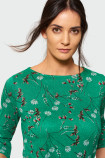 Klasyczny sweter z nadrukiem