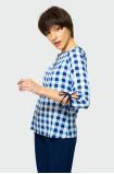 Wiskozowa bluzka w kratę