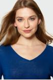 Niebieski sweter