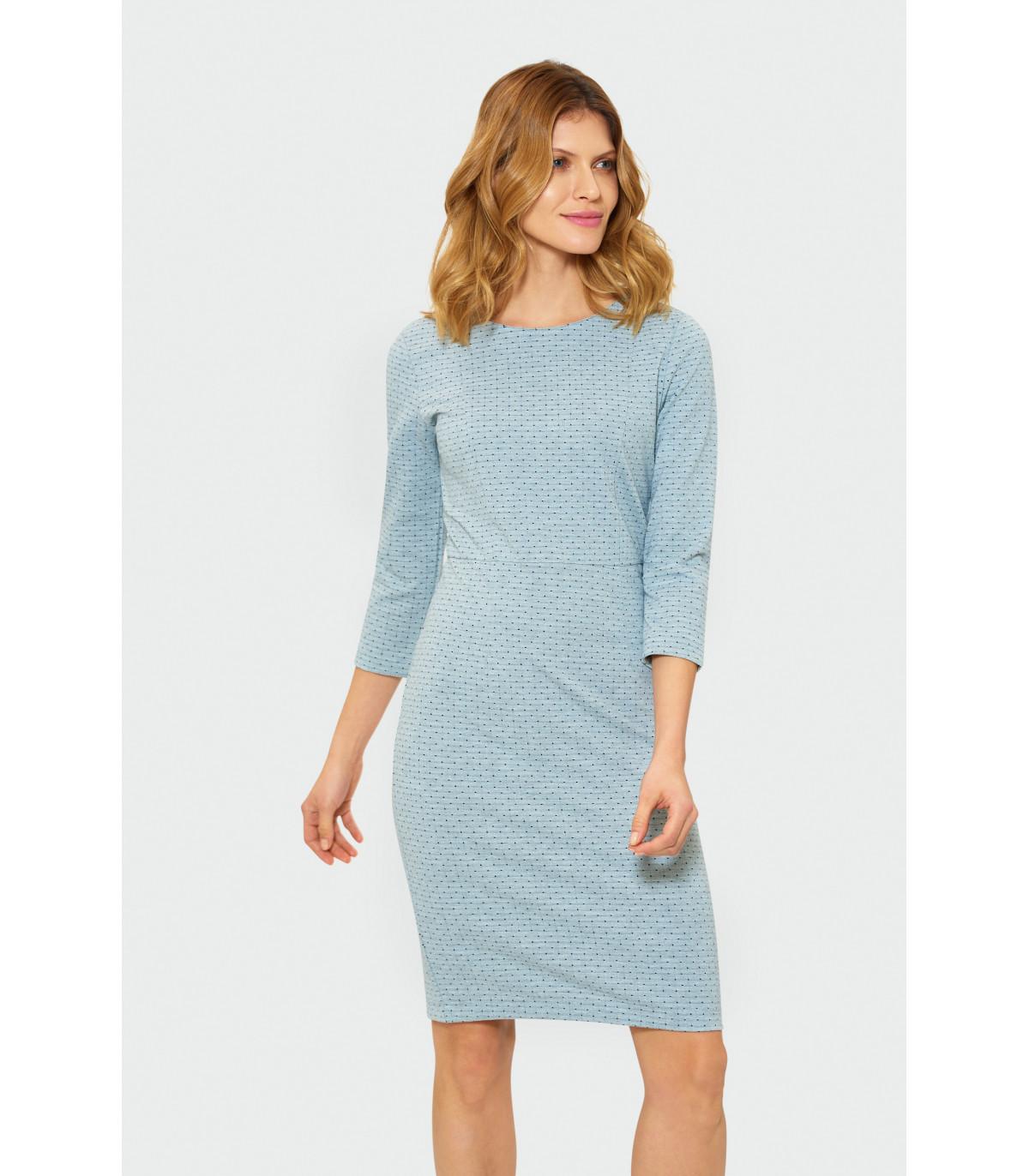 3bbf5fe2b5 Ołówkowa sukienka Rozmiar 44 Kolor S19GRLIM