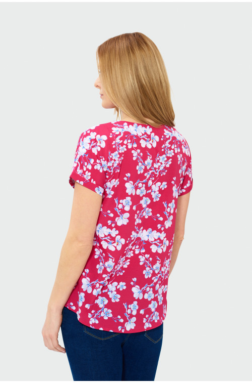Bluzka typu kimono