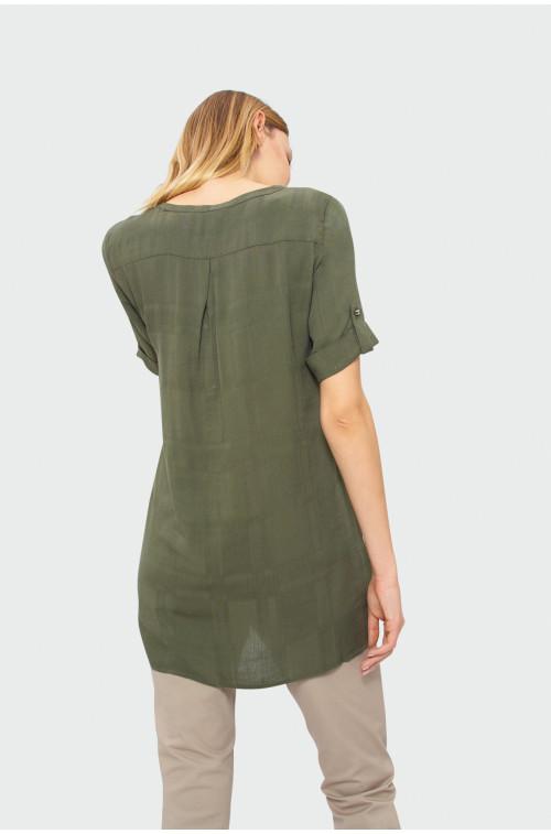 Oliwkowa koszula