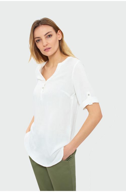 Biała koszula