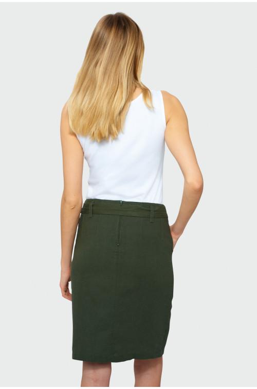Klasyczna spódnica z paskiem
