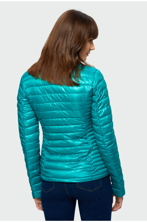 Dopasowana pikowana kurtka