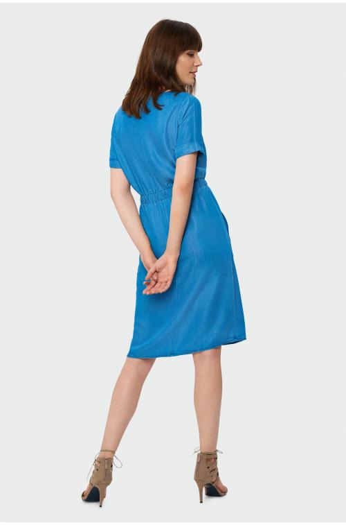 Sukienka z lyocellu