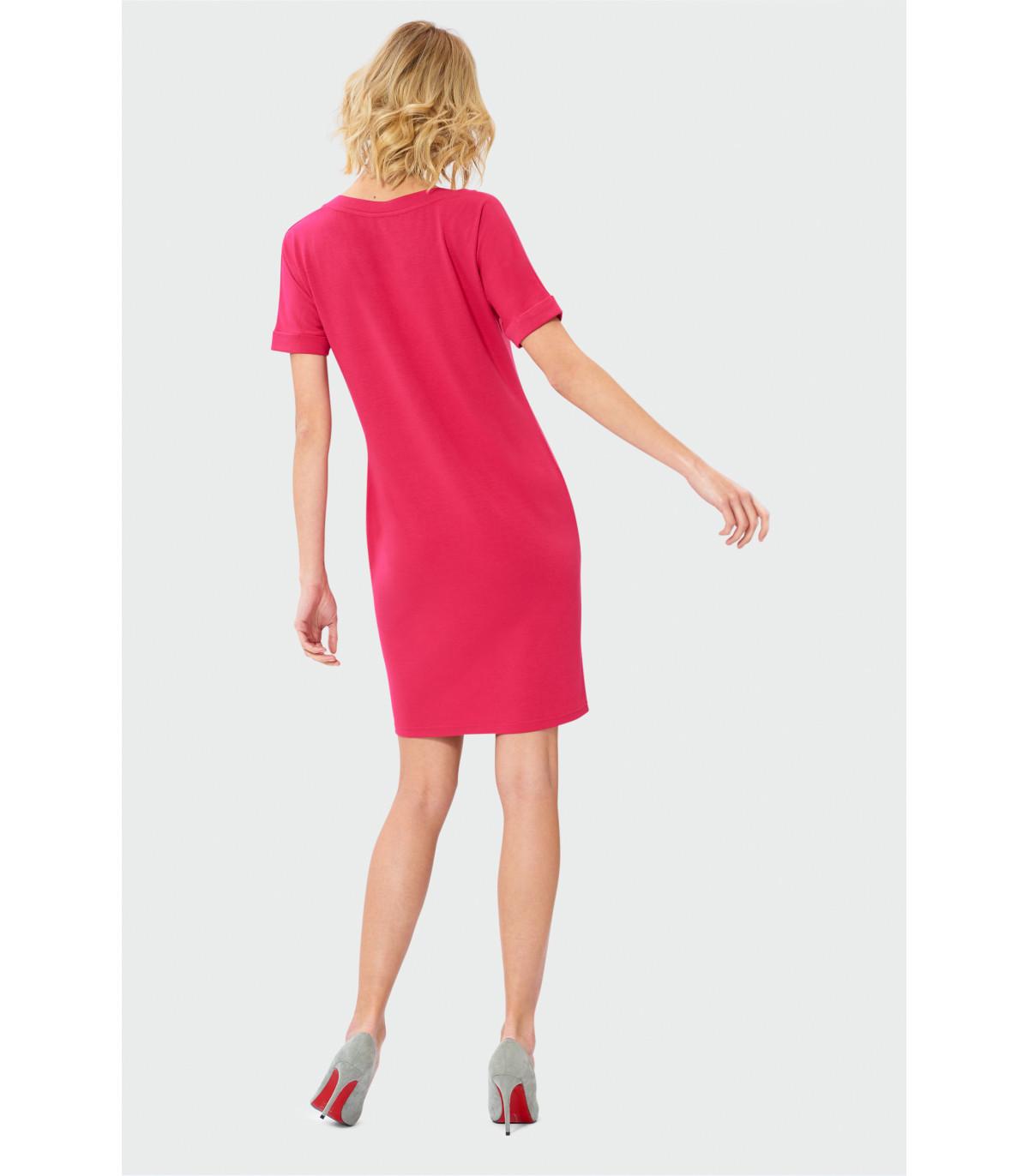 dbf1cbc850 Sukienka z dekoltem w szpic Rozmiar 38 Kolor S19REROU