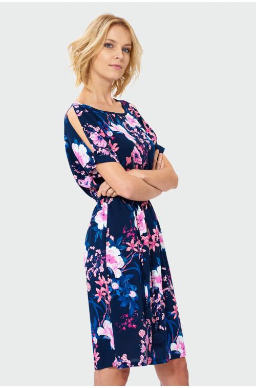 Wiskozowa sukienka