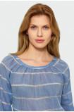 Bawełniana bluzka w paski