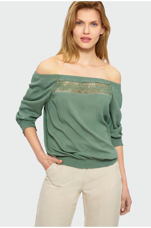 Wiskozowa bluzka carmen