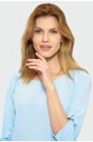 Bluzka z ozdobnym wiązaniem przy rękawach