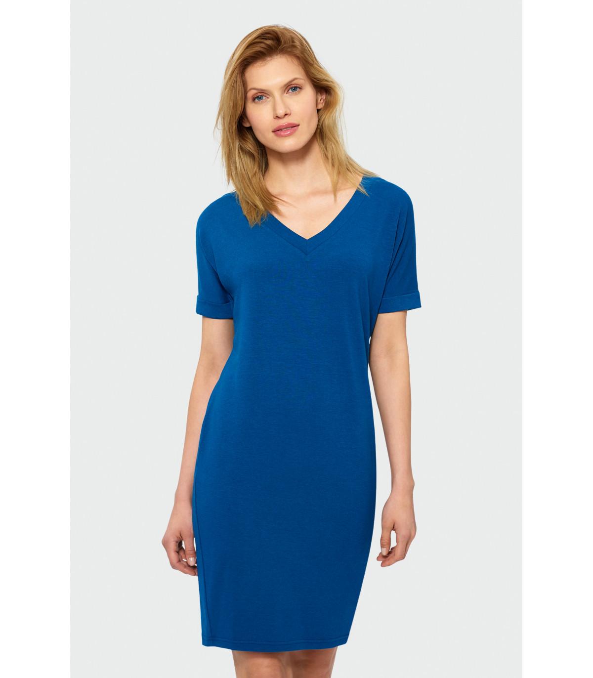2177b63c04 Sukienka z dekoltem w szpic Rozmiar 36 Kolor S19BLSTE